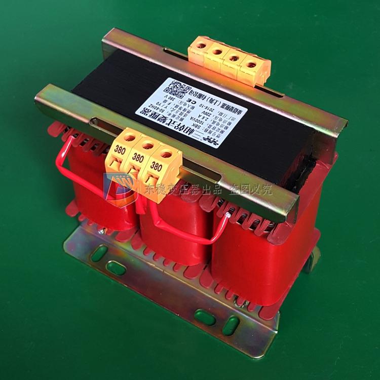 三相380V变220V、200V干式隔离变压器