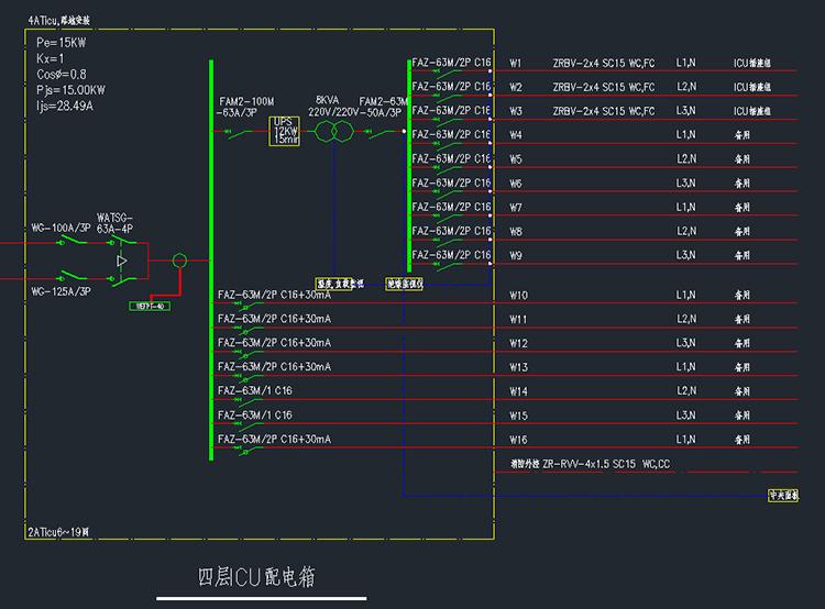 IT医用隔离变压器成套设施